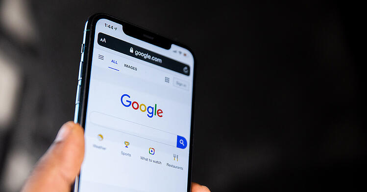 Búsqueda en Google desde el móvil